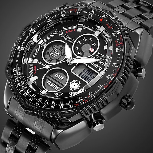 INFANTRY Military Watch Men Analog Digital Mens Watches Top Brand Luxury Army