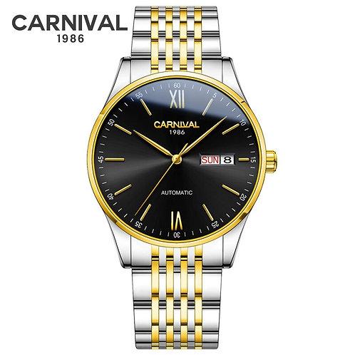 Carnival Mens Watches Top Brand Luxury Waterproof Seiko Mechanical Watch Men