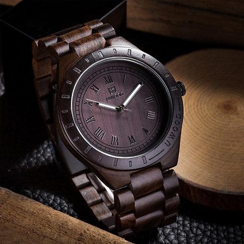 Uwood Wooden Watches Men Wristwatches Wood Bamboo Watch for Men Wrist Wood