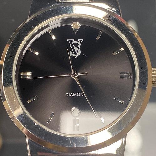 Men's Stunning VS Diamond Quartz Wristwatch
