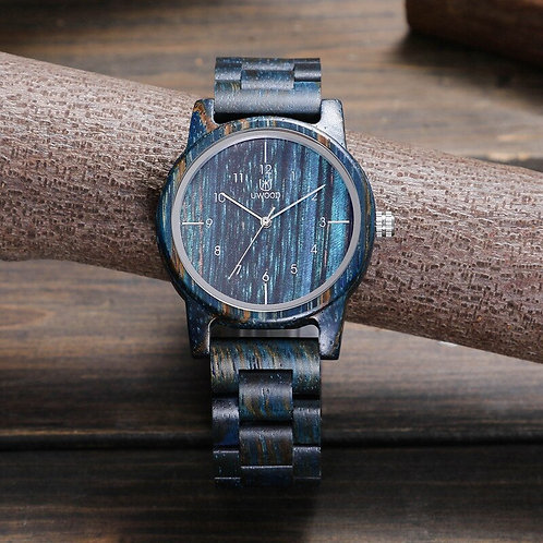 Uwood High Grade Stable Wood Wooden Quartz Watches Men Wristwatches Bamboo
