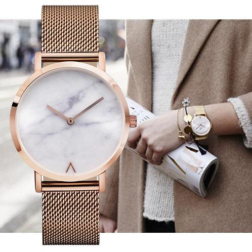 EUTOUR 7 Mm Ultra Thin Women Watches Simple Quartz Watch Women Stainless Steel