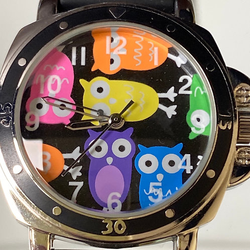 'Life's A Hoot' With this Fun Owl Quartz Wristwatch