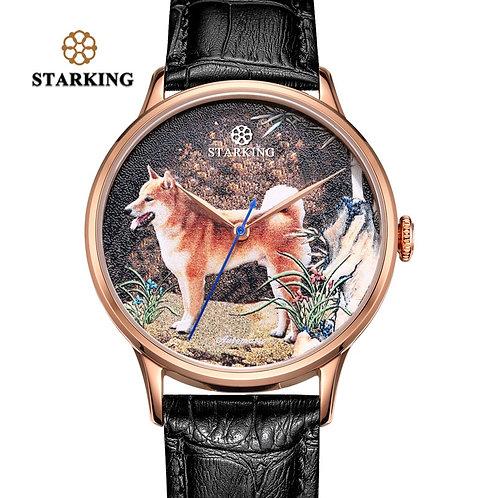 STARKING Watch New Design Year of the Dog Watch Automatic Self-Wind Watch