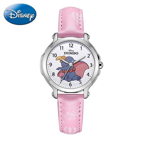 DUMBO Little Girl Pretty Cuties Pink Top Disney Brand Children Quartz Watch