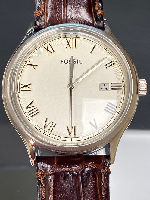 Men's Classic Fossil Wristwatch