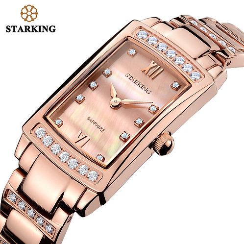 STARKING 2017 Relogio Feminino Women Analog Quartz Bracelet Watch