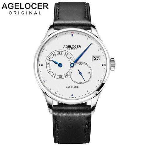 2019 Agelocer Watches Mens Business Automatic Swiss Top Brand Analog Male Watch