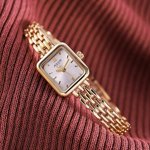 Top Julius Mini Lady Women's Watch Japan Quartz Elegant Fashion
