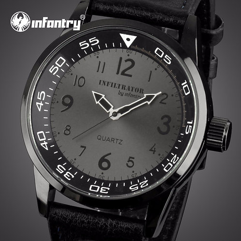 INFANTRY Mens Watches Top Brand Luxury Minimalist Military Watch Men Army Thin