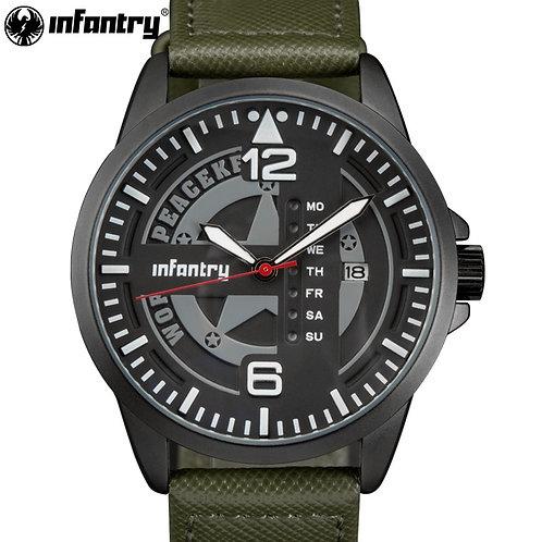 INFANTRY Military Watch Men Tactical Police Quartz Wristwatch Mens Watch