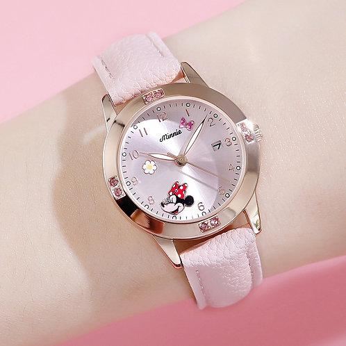 Disney Mickey Mouse Women Quartz Wristwatch Watches Gift for Kids Watches Metal