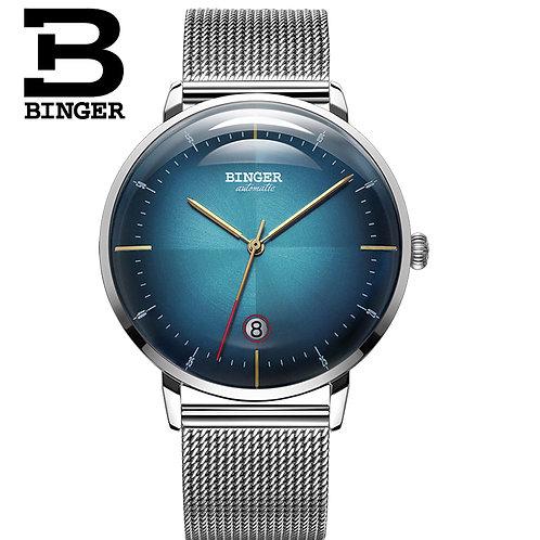 Switzerland BINGER Automatic Mens Watches Top Brand Luxury Mechanical Watch