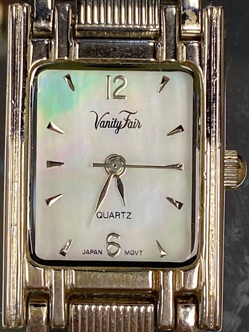 Ladies Elegant Mother of Pearl Vanity Fair Quartz Wristwatch