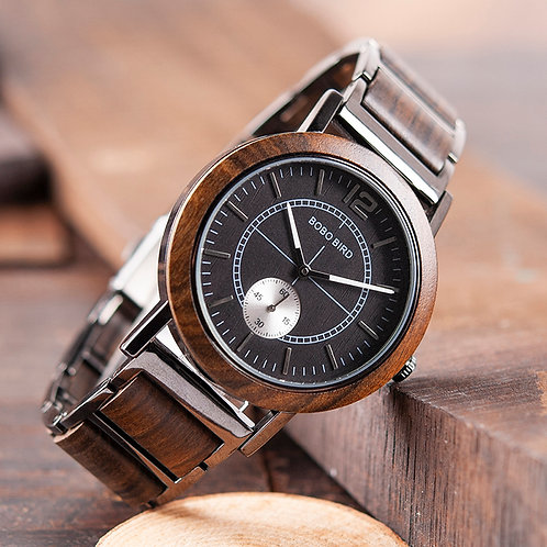 BOBO BIRD Lover's Watches Luxury Wooden Watch Couple Stylish and Quality