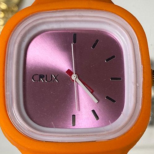Cool Colors Crux Interchangeable Case Covers Quartz Wristwatch