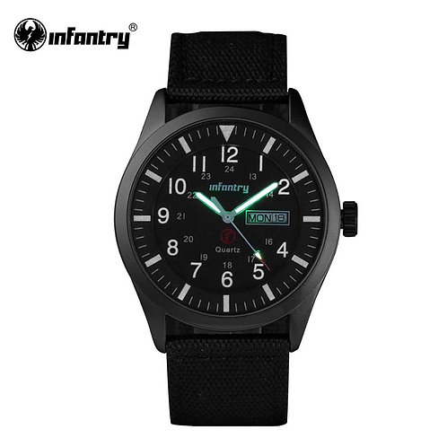 INFANTRY Mens Watches Top Brand 2020 Sport Watch Men Police Luminous
