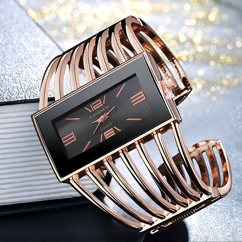 2019 Top Luxury Brand Bracelet Women Watch Unique Ladies Watches Full Steel