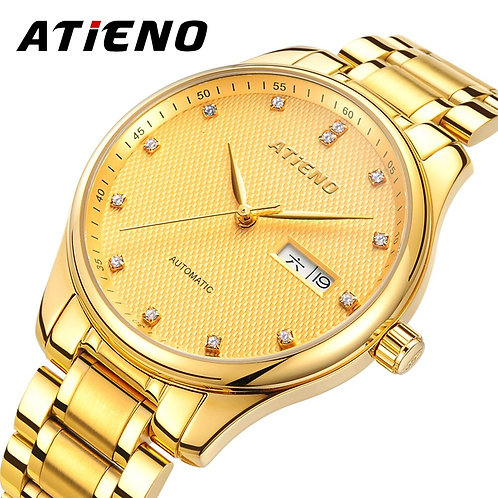 ATIENO New Arrival Luxury Gold Color Stainless Steel Elegant