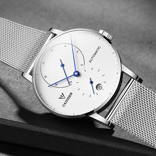 CADISEN Top Mens Watches Top Brand Luxury Automatic Mechanical Watch Men Fashion