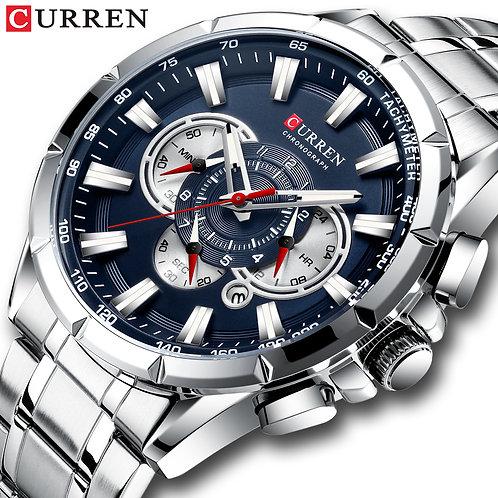 CURREN New Causal Sport Chronograph Men's Watch