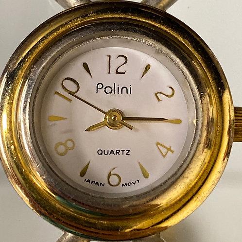 Ladies Classic Two Tone Polini Quartz Wristwatch