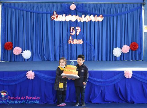 Celebración Semana Aniversario n° 57 2018