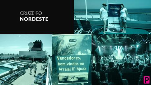 Viagem de Incentivo - Cruzeiro Nordeste