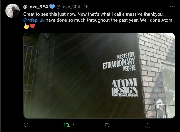 Love SE24 Tweet