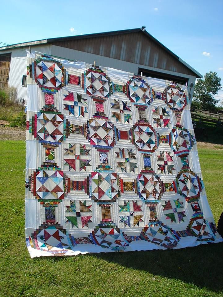 Ugly Duckling Quilt by Jean Dyck