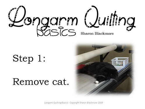 Longarm Quilting Basics