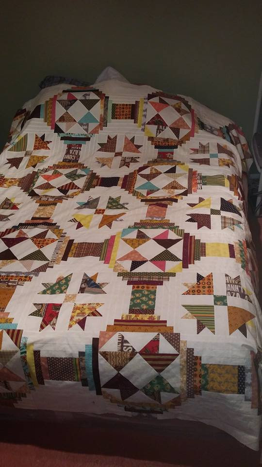 Ugly Duckling Quilt by Tami Waldner