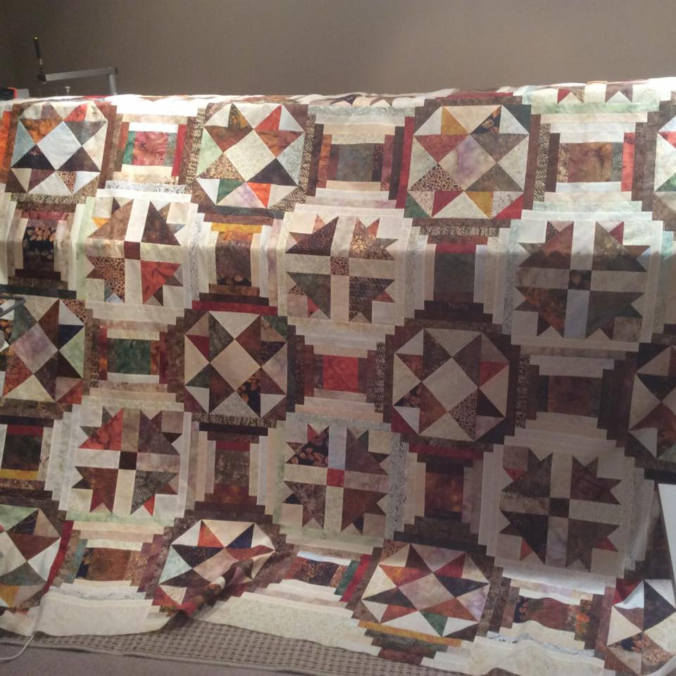 Ugly Duckling Quilt made by Sandra Bakka