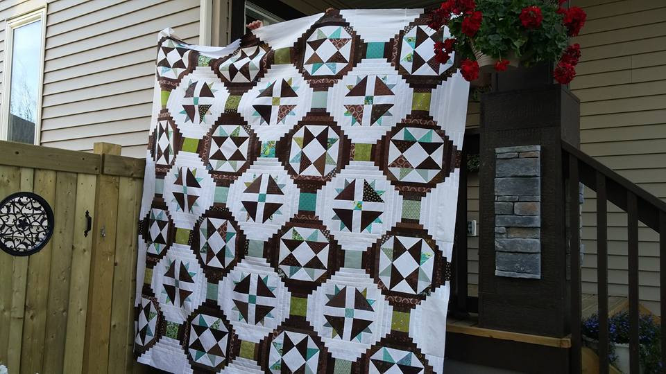 Ugly Duckling Quilt by Lorie Rehman