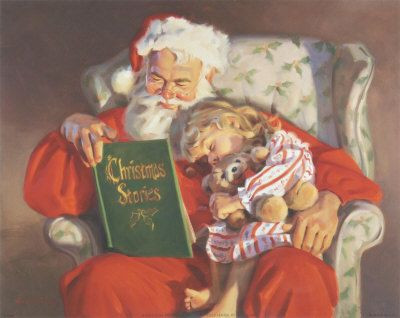 Santa, Fill my Stockings with BOOKS!