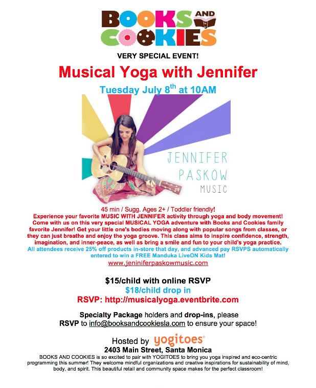 Musical Yoga Invite + Giveaway!