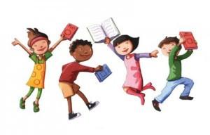 books-kids-dancing-with-books-300x192.jpg