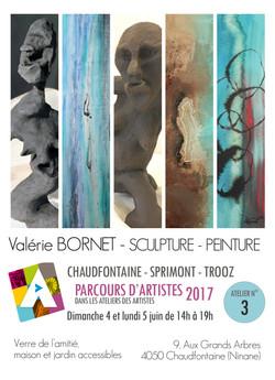 Affiche parcours d'artistes2017