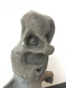 Figurine terre cuite