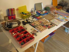 """Atelier """"Découverte de l'art thérapie"""" chez Com&Moi"""