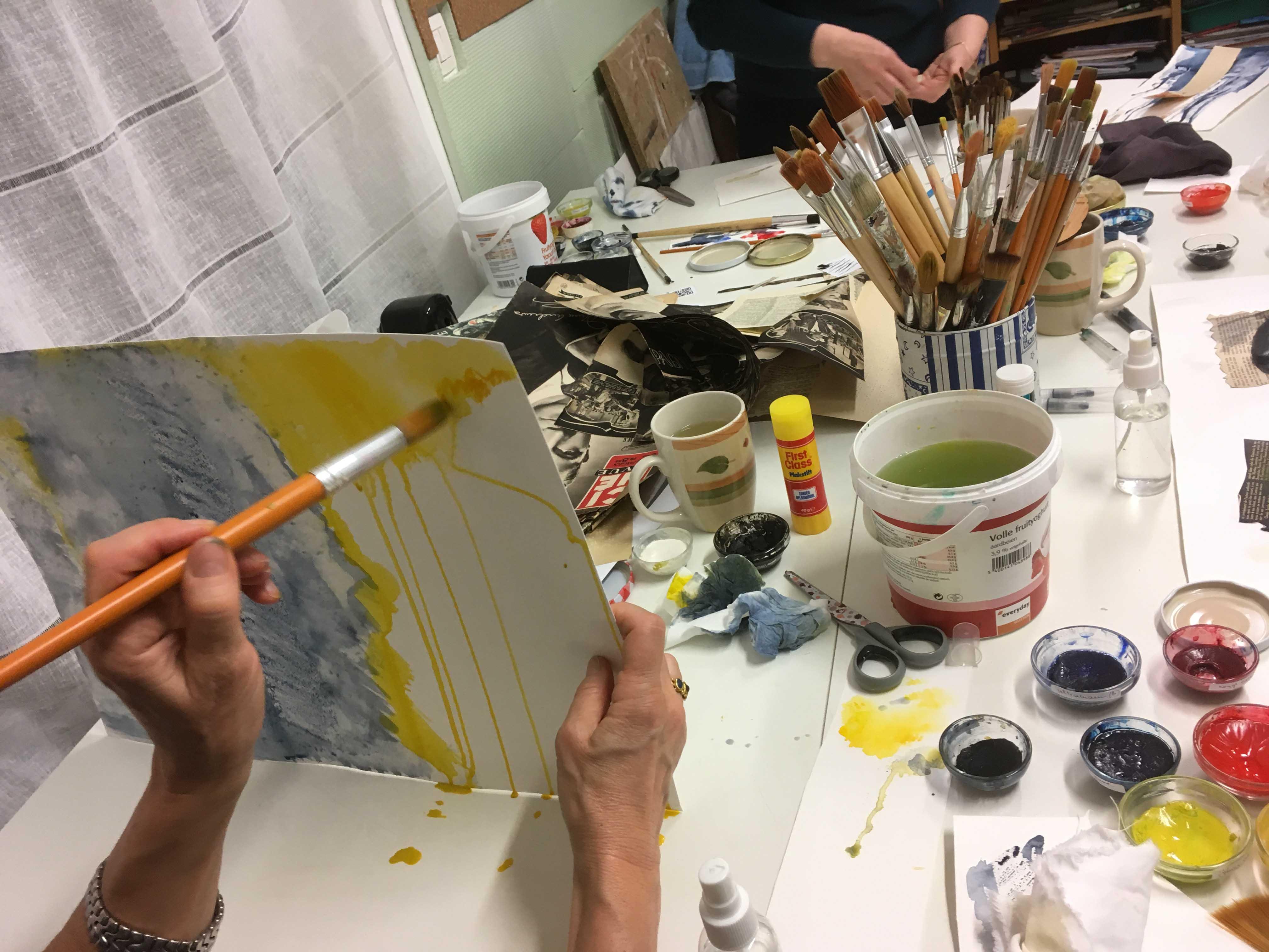 """Atelier """"Découvrez de l'aquarelle autrement"""""""