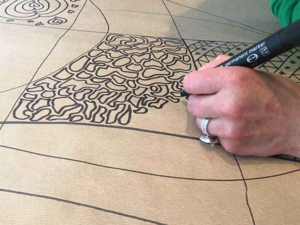 """Atelier """"Découverte du Zentangle"""""""
