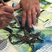 """Atelier """"Explorez l'aquarelle autrement"""""""