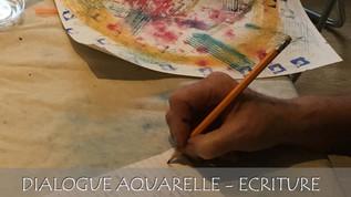 """Atelier """"Dialogue Aquarelle-écriture"""""""