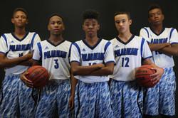 2016 - 2017 Boys Basketball Lineup