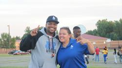 Coach King and Coach Fox