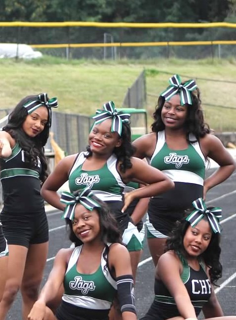 Nakayla G. and Kennedi Y CHF Cheer!