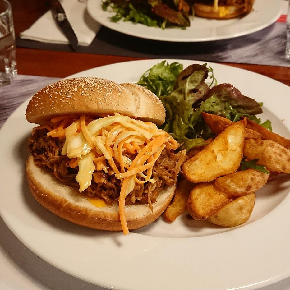 Pork Pulled Burger