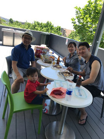 Barbeque party at Saturday