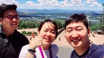 E3Geo group at Mt. Ainsile